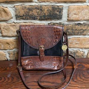 Vintage Brahmin Tuscan Leather Crossbody